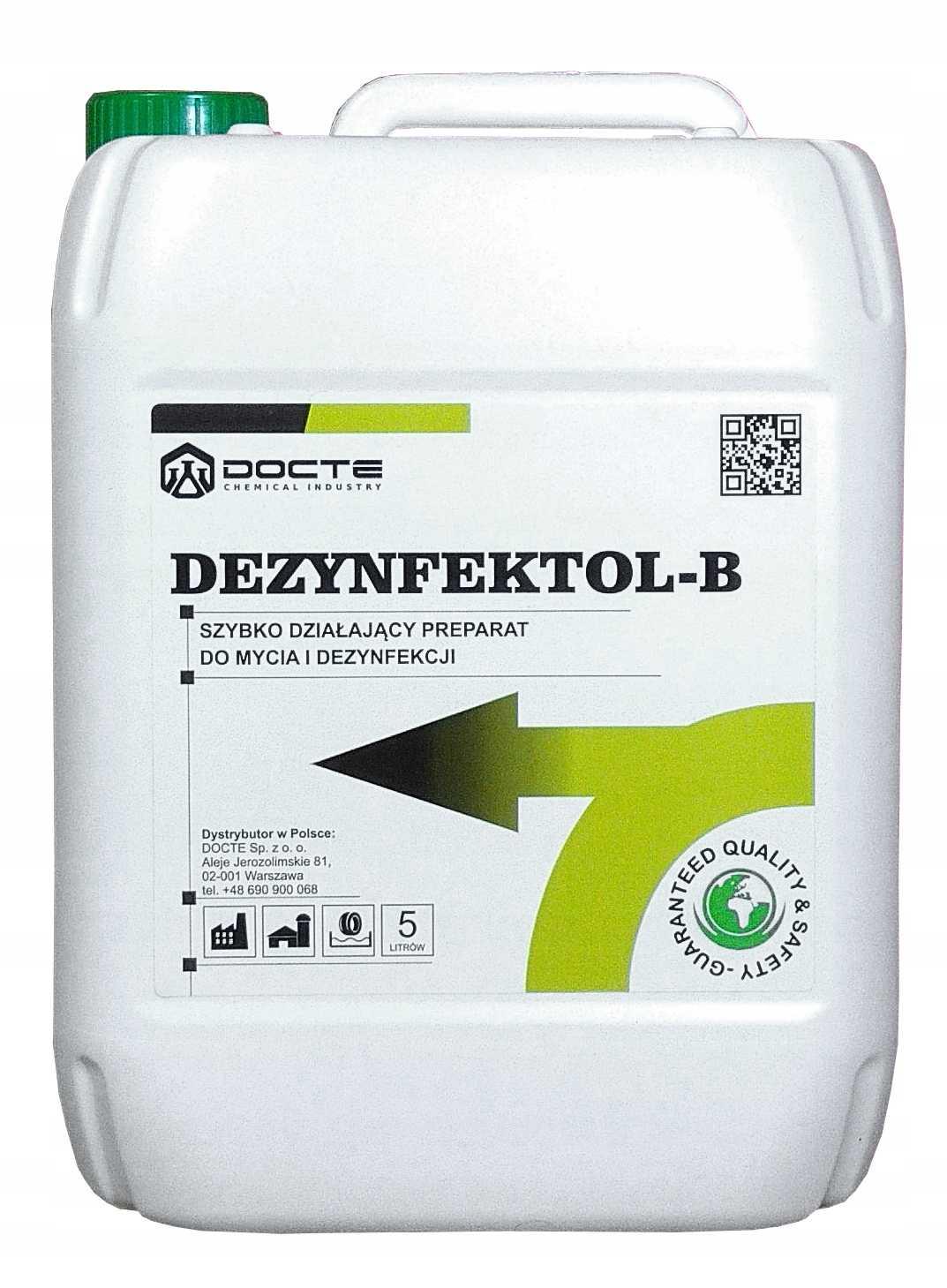 dezynfektol b do dezynfekcji