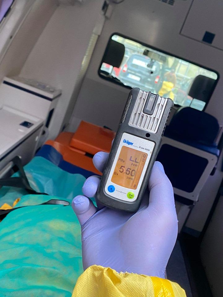 Ozonowanie karetek w szpitalu