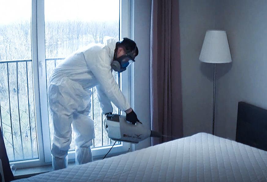 dezynfekcja mieszkania koronawirus